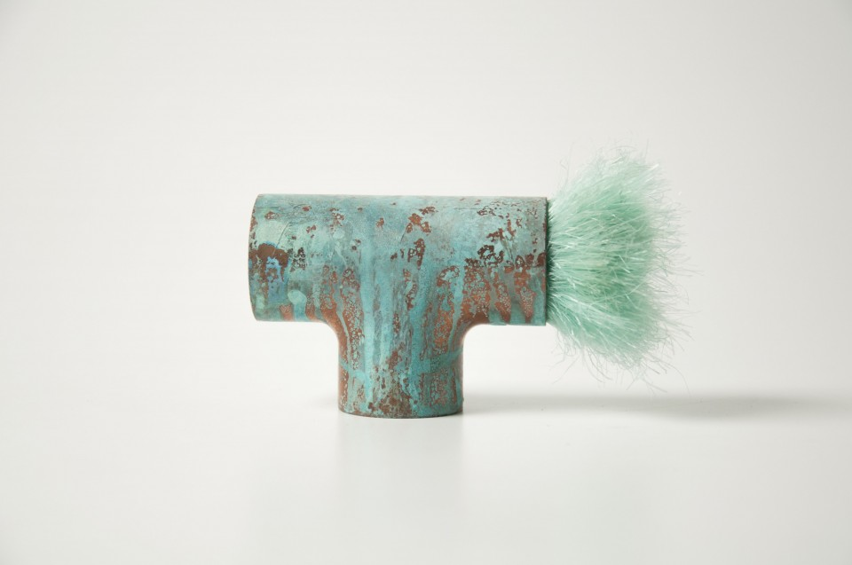 Naama Agassi - Projects - Sublime Imperfection: Royal Green-Blue
